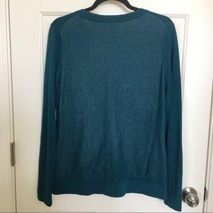 CAbi Sweaters - Cabi Teal Ever Cardigan